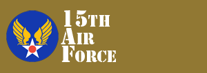 15th Air Force Website Logo